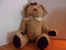 "NEW NWT 18"" RUSS BERRIE GRETA TEDDY BEAR PLUSH"
