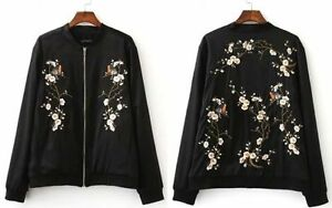 Womens-Oriental-Floral-Embroidered-Coat-Embroidery-Satin-Baseball-Bomber-Jacket