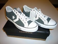 Converse # 112523 STAR PLAYER EV OX SUEDE CHARCOAL New ITB Mens 9 Womens 11
