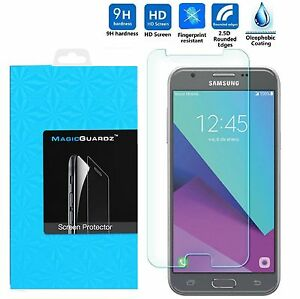 Cases, Covers & Skins Premium Real Tempered Glass Screen Protector Film Samsung Galaxy J3 Prime 2017