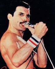 Freddie Mercury Queen Red white & blue Sweat band rare replica item