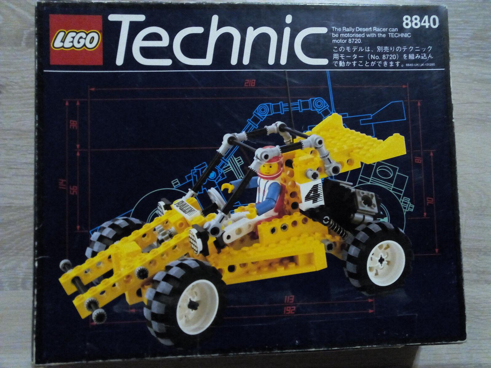 Lego Technic Technik 8840 Rallye Shock & Roll Racer   TOP ZUSTAND - RARITÄT