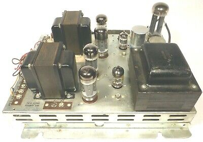 working STEREO AMPLIFER R-4359A MM6  part ROWE RI TI 2 MM5 TI 1 MM4