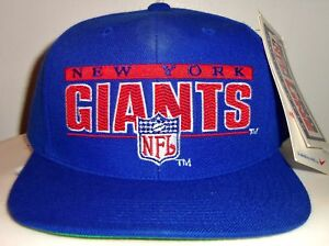 NEW VINTAGE 90 s NEW YORK GIANTS NFL SPORTS SPECIALTIES SNAPBACK CAP ... 40e04e117