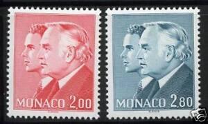 MONACO-TIMBRES-1374-1375-NEUF-XX-LUXE