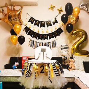 Gold-Crown-Foil-Helium-Balloon-Princess-Birthday-Party-Wedding-Unicorn-Tool-AY