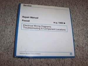 1995 VW Volkswagen Passat Electrical Wiring Diagrams ...