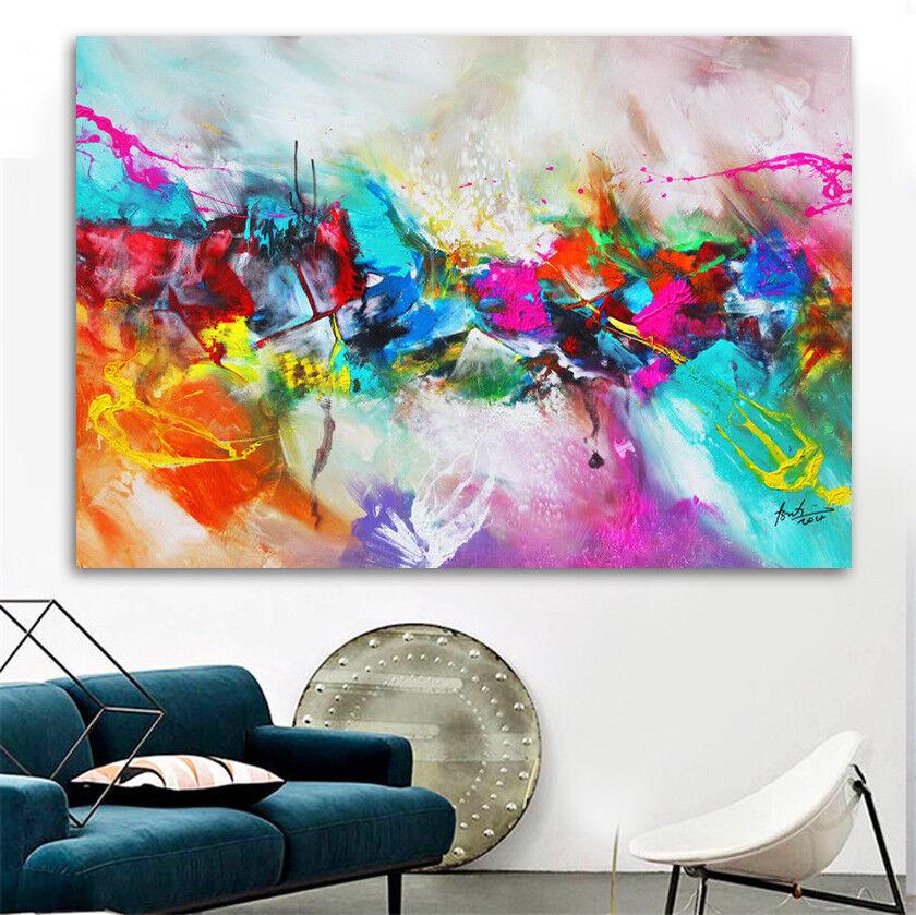 Bratis Art Abstrakte Bilder auf Leinwand Deko Wandbild Kunstdruck Modern 767A