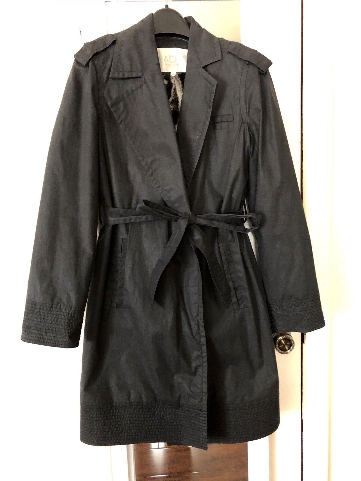 Rachel By Rachel Roy Trench Coat  Rain Coat,Fully Lined With faux fur inside