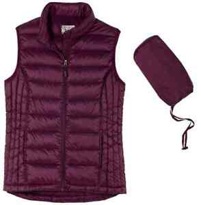 Womens 32 Degree Weatherproof Vest Down Packable Jacket