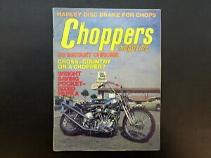 Choppers-Magazine-April-1976-Custom-Chopper-Cycles-Motorcycle-Biker-Mag