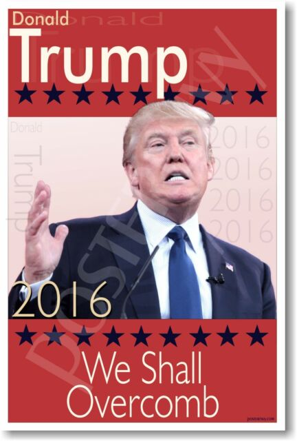 Donald Trump 2016 For President 24x36 Poster