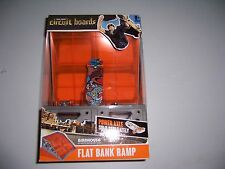 HEXBUG Tony Hawk Circuit Boards Flat Bank Ramp W/ Birdhouse Skateboard NEW!