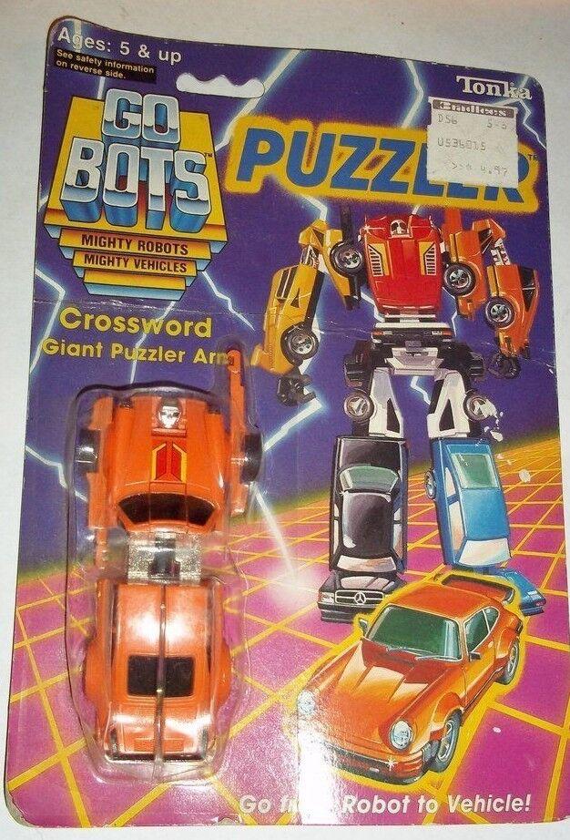 GOBOTS go bots vintage 1985 PUZZLER combiner CROSSWORD transformers moc