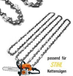 """Schwert für Kettensäge Stihl 3 Stück Sägekette 40cm 16/"""" Kette 3//8/""""1,3mm"""