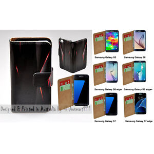 For-Samsung-Galaxy-Series-Polygon-Infra-Red-Print-Wallet-Mobile-Phone-Case-Cover