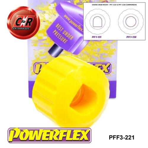 Powerflex Moteur snober nez Mount PFF3-221 Avant 2WD Audi A4 B7 Inc 05-08
