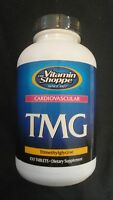 The Vitamin Shoppe Tmg 1000 Mg Trimethylglycine 100 Tablets Cardiovascular