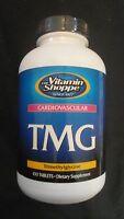 The Vitamin Shoppe Tmg 1000 Mg Trimethylglycine 100 Tablets Cardiovascular
