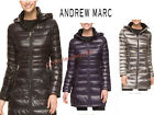 ANDREW MARC WOMEN'S FEATHERWEIGHT LONG DOWN HOODED JACKET! # 969072