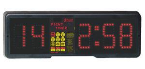 NEW-Fight-Gym-Timer-115-or-230-Volts-Boxing-Kickboxing-Jiu-Jitsu-MMA