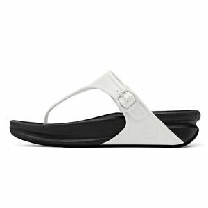 46bbb1462 FITFLOP SIZE 2 3 5 6 7 SUPERJELLY URBAN WHITE BLACK TONE UP TONING ...