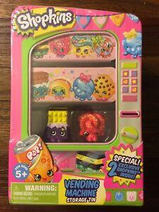 Shopkins-Season-1-Vending-Machine-Storage-Tin-Cheeky-Chocolate-FREE-Ship-25