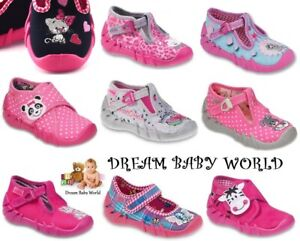 BABY BEFADO girls canvas shoes nursery