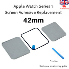 Apple Watch Series 1 Screen Adhesive Replacement 42mm + Free Tool