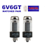 thumbnail 1 - Vacuum Tube 6V6GT Tung-Sol Reissue Matched Pair for Vintage Tweed Amps