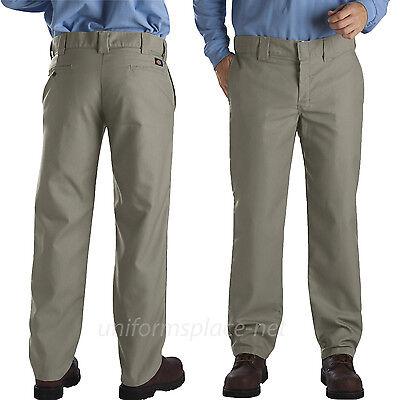 Dickies Work Pants Mens SLIM STRAIGHT FIT Pant WP863 Bedford Cord Lower Rise