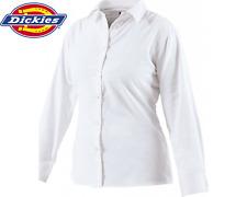 Dickies Ladies Long Sleeve Oxford Work Shirt, Printing Embroidery Logo SH64300