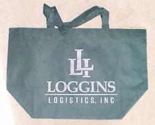Hunter Green LOGGINS LOGISTICS Trucking Reusable Grocery Shopping Tote Bag