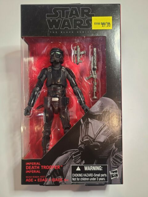 IMPERIAL DEATH TROOPER - STAR WARS BLACK SERIES ROGUE 1 RED BOX