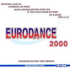TONY BRAM'S Eurodance 2000 EU Press Gema Mark 577 CD