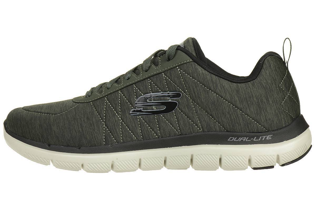 Skechers Skech Flex Advantage Fitness 2.0 Chillston Herren Sneaker Fitness Advantage Schuhe olive 65ce3e