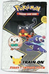 Pokemon First Partner Pack - Alola (3 Oversized Cards + 2 Booster Packs)