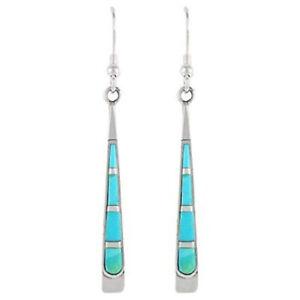 Women-Jewelry-Silver-Earrings-Hook-Coloured-Glaze-Vintage-Bohemian-Dangle-Drop