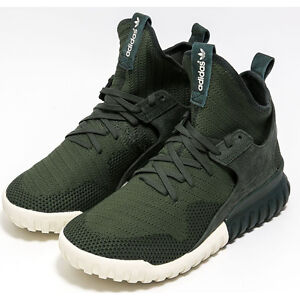 Image is loading ADIDAS-TUBULAR-X-PK-PRIMEKNIT-TRAINERS-Trainers-Green-