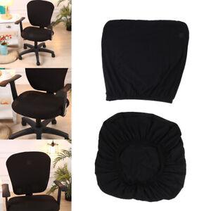 Housse-de-chaise-extensible-noire-housse-de-chaise-de-bureau-housse-de-chaise