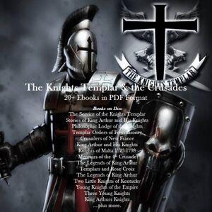 CD - Knights Templar & The Crusades + Free Famous eBooks