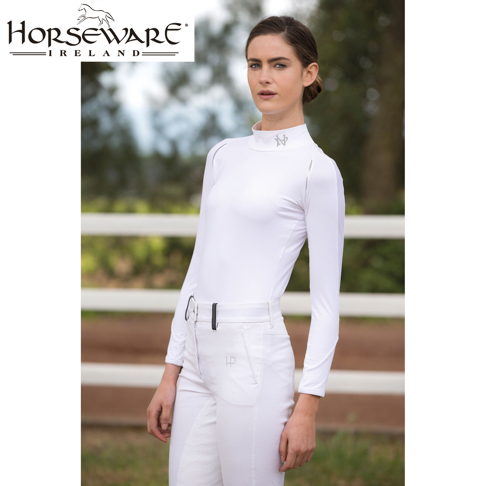 Horseware Ladies Long Sleeve Base Layer (CJBAFS) BNWT