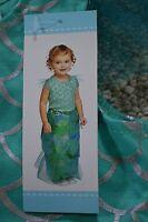 Old Navy Infant Baby Girls 2 Piece Mermaid Halloween Costume Size 6-12 M