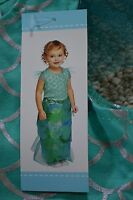 Old Navy Infant Baby Girls 2 Piece Mermaid Halloween Costume Size 6-12 M