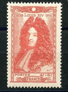 Stamp / Timbre France Neuf N° 617 ** Louis Xiv RéTréCissable