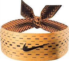 New Womens Nike Head Tie Skylar Diggins Headband Running Basketball Atomic Mango