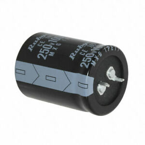 2 x Panasonic Aluminium Electrolytic Capacitor ECOS2DA102DA 1000uF 200 V dc