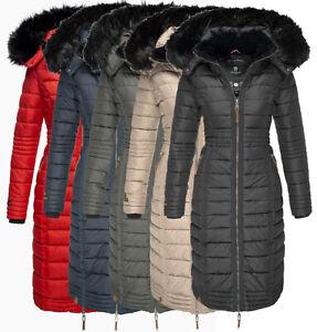 Parka Jacke Mantel Zu Damen Navahoo Winter Neu Details Steppmantel Lange Umay 5AR3Lq4j