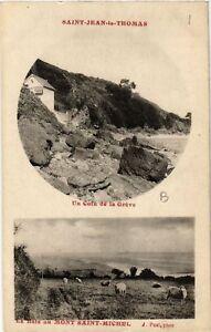 CPA-Saint-Jean-le-Thomas-Un-Coin-de-la-Greve-633117