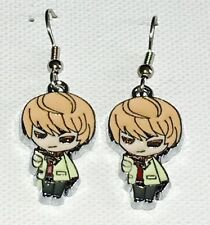 Light Yagami Death Note Anime Earrings Surgical Hook New